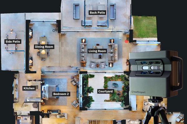 VIRTUAL REALITY SOLUTIONS - MATTERPORT PRO2 3D CAMERA